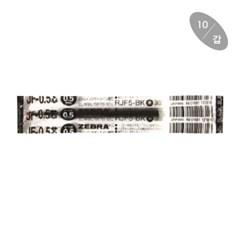 [제브라] 중성리필심 JF (0.5mm/적색,청색,흑색)(갑)_(12655012)