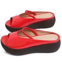 kami et muse Elsastic top strap platform slippers_KM20s288