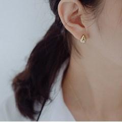 92.5 silver teardrop earrings (2color) (실버925)