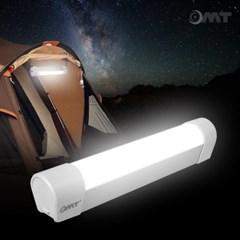 OMT 충전식 LED 랜턴 조명 보조배터리 내장 캠핑 낚시 작업등