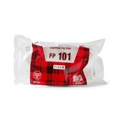 칼리타 커피필터 1-2인용 화이트 100매 (FP101) 5개 세_(992932)