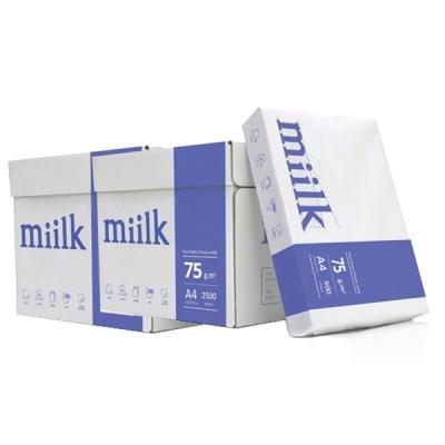 [한국제지] 밀크 복사지 A4 75g 2BOX(5000매)_(12651095)