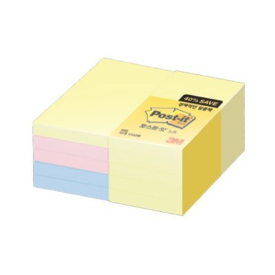 [3M] 포스트잇 656-10A 알뜰팩 (51*76mm/1000매)_(12651334)