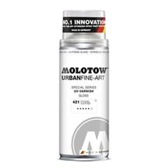 [모로토우] 파인아트 마감제  UV 바니쉬 400ml (유광 무_(12650658)