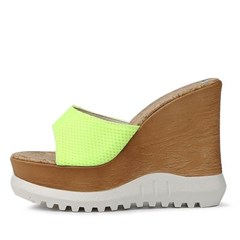 kami et muse Platform high wedge slippers_KM20s291