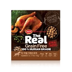 더리얼 그레인프리 오븐베이크드 닭고기 어덜트 1kg 강아지사료