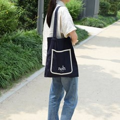 Color bag (navy&white)