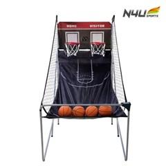 엔포유 농구골대 N4U-BK01 실내 전자 미니 이동식 게임기