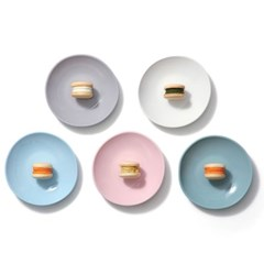[에르모사 키친] 컬러머드 무광도자기 접시 모음전 7인치 17.8cm