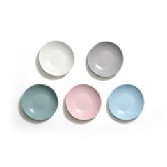 [에르모사 키친] 컬러머드 무광도자기 접시 모음전 5인치 12.5cm