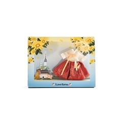120-SP-0003 / 한복 향낭 키링 엽서(국화)
