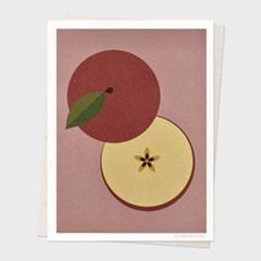 카드 / 106 사과