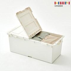 [한샘몰X엔플라스틱] 케이스 리빙박스 반오픈형 2P