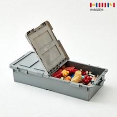 [한샘몰X엔플라스틱] 케이스 언더베드 반오픈형 2P