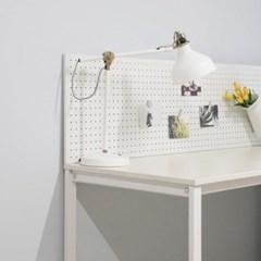 트리빔하우스 테드 LPM 철제 800 타공판 테이블 책상_사각