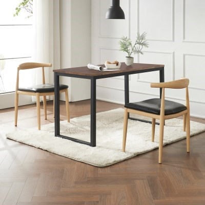 포스티 식탁 세트B 1400 + 의자 2개포함