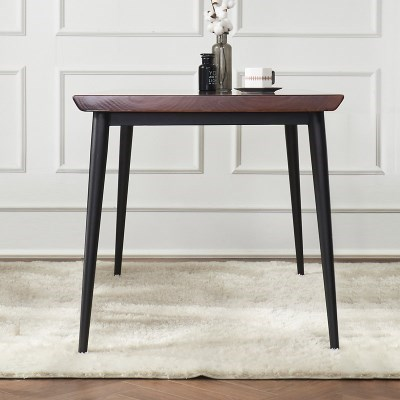 브리엔 원목 철제 식탁 테이블 1800