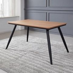 토바 무늬목 식탁 테이블 1200