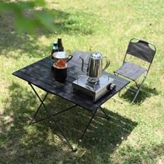 카르닉 경량 롤링 폴딩 테이블 XL / 블랙 캠핑 피크닉 테이블