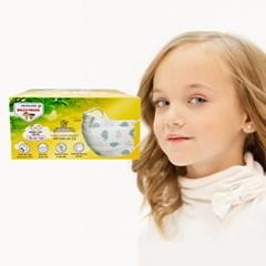 애니가드 프리비 어린이마스크 50매 유아덴탈마스크 일회용마스크