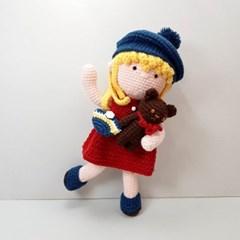 [손뜨개 DIY]손뜨개인형-졸리랑 꼬마곰