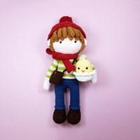 [손뜨개 DIY]손뜨개인형-노아랑 삐약이