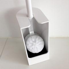 마나 SLIM 미니 화장실 변기 브러쉬 W201