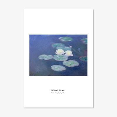 클로드 모네 2 명화 인테리어 아트 포스터 17종