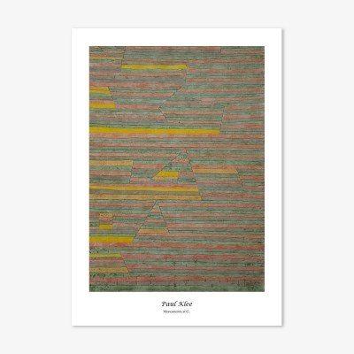 파울 클레 2 명화 인테리어 아트 포스터 20종