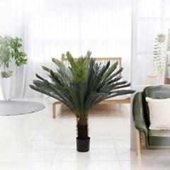 인조나무 화분 인테리어나무 조화 소품 워싱턴소철 130cm