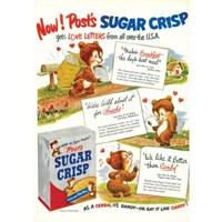 [디저트신드롬] 빈티지 일러스트 포스터 :: sugar crisp_love letter