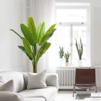바나나 나무 - 대형 식물 조화 나무