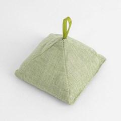 삼각 대나무 숯주머니(그린)
