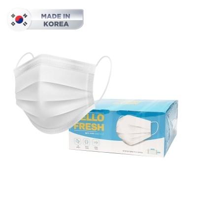 [국산] 이중포장/당일발송 3중 MB 필터 일회용 마스크 50매