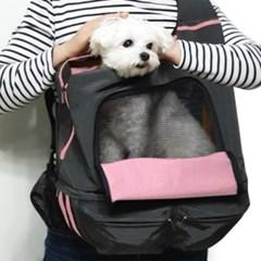 건강한 이동가방 케어백 - 핑크그레이