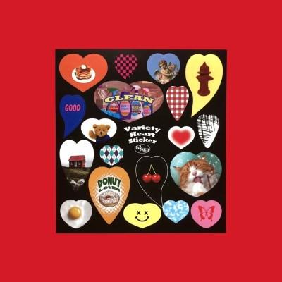 Variety Heart Sticker