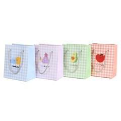 [모닝글로리]800 패턴미니 쇼핑백(100x60x120mm)_(3046485)