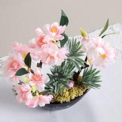 청옥벚꽃화분set 20cmAP 조화 화병 인테리어 FMFUFT_(1846599)