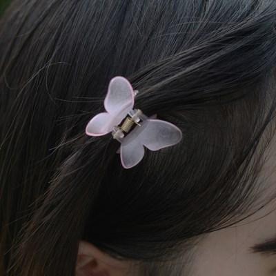 03HXS Butterfly acrylic hairpin