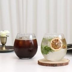 홈카페 오로라 언더락 유리컵