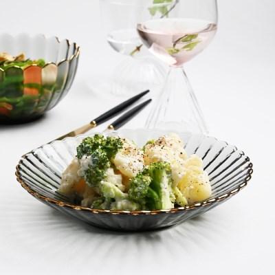 골드라인 미스그레이 접시 디저트접시 19cm_(1641042)