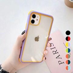 아이폰6S플러스 투톤 컬러 클리어 하드 케이스 P539_(3009820)