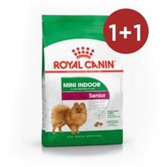 로얄캐닌 강아지사료 미니 인도어 시니어 1.5kg x2개_(1195166)