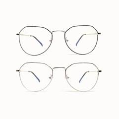 블루라이트 차단 안경 스틸프레임 BL09