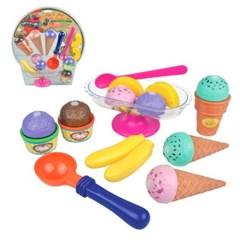[레드박스] 아이스크림 만들기놀이세트(19P) (612R22306)