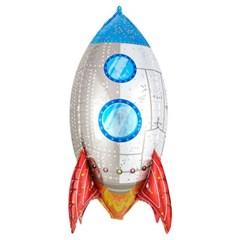 [원팩] 캐릭터은박풍선 홀로그램 우주선 41x78cm_(12089199)