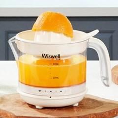위즈웰 자동 전기 착즙기 과일 오렌지 레몬 WJ400