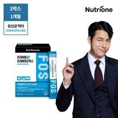 정우성 FOS 프리바이오틱스 30포 1박스 /유산균먹이