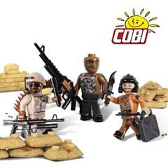 코비 COBI 용병대 피규어 3P 2020_(1704096)