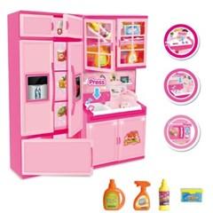 맥킨더 DIY 미니어처 주방 냉장고 역할놀이_(293005)